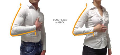 Misure giacche: le maniche