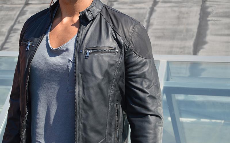 giacca da uomo indossata da donna